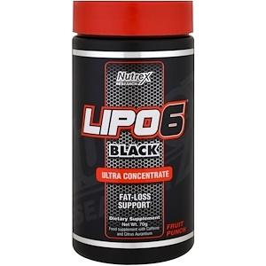 Nutrex Lipo 6 Black Ultraconcentrate 70 g ( 50 serv)