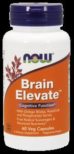 Now Brain Elevate 60 veg caps