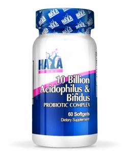 Haya Labs 10 Billion Acidophilus & Bifidus 30 caps
