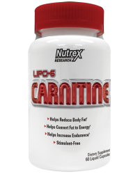 Nutrex Lipo 6 Carnitine 120 liquid caps