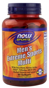 Now Men`s Extreme Sports Multi 90 softgels