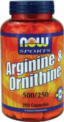 now-arginine-ornithine-250-caps
