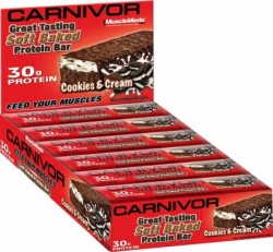 MuscleMeds Carnivor Baked Protein Bar