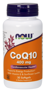 Now CoQ 10 Cardiovascular Health 400 mg 30 softgels