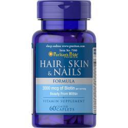 Puritan`s Pride Hair Skin & Nails 30 softgel