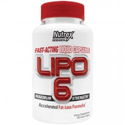 Nutrex Lipo 6 Maximum Strenght 120 caps