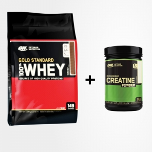 On Whey Gold Standard 4,5 kg + On Creatine 634 g