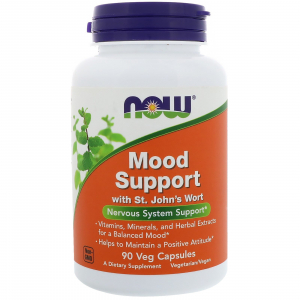 Now Mood Support with St. John's Wort 90 veg cap