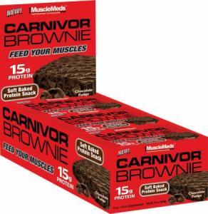 Musclemeds Carnivor Brownie 12 bc