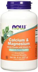 now-calcium-magnesium-citrate-vit-d3-227g
