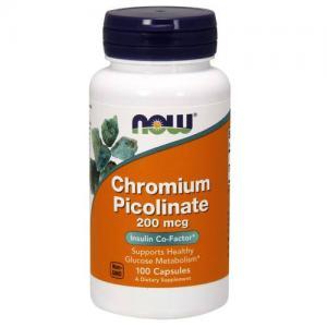 Now Chromium Picolinate 100 vcaps