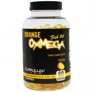 Controlled Labs Oximega Fish Oil 120 softgels
