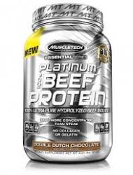 Muscletech Platinum 100 % Beef Iso 900 g