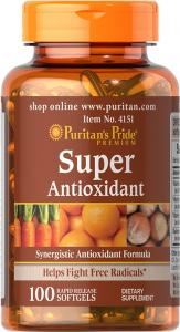 Puritan`s Pride Super Antioxidant Forumula 100 softgel