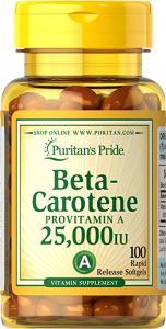Puritan`s Pride Beta Carotene 10000 IU 100 caps