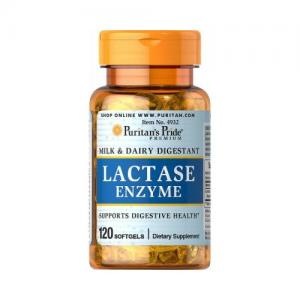 Puritan`s Pride LACTASE ENZYME 125 MG 120 softgel