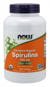 Now Spirulina 500 tab