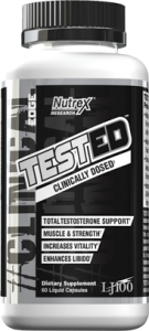 Nutrex Tested 60 caps