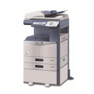 Toshiba e-Studio 456SE, monocrom, 45 ppm, copy-print-scan color, reconditionat