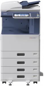 Toshiba e-Studio 2550C, color, 25 ppm, copy-print-scan color, reconditionat