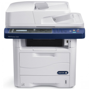 Multifunctional Xerox WorkCentre 3225 DNI , monocrom, 32 ppm, copy-print-scan-fax, reconditionat