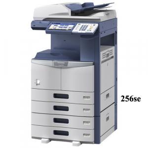 Toshiba e-Studio 256SE, monocrom, 25 ppm, copy-print-scan color, reconditionat