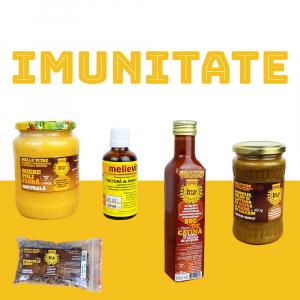 Pachetul Imunitate contine produse apicole recunoscute pentru efectul lor benefic asupra sistemului imunitar. Iata care sunt beneficiile acestora: