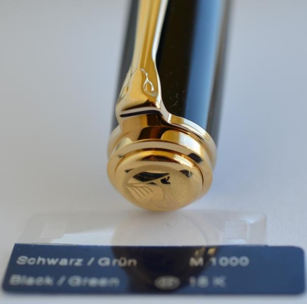 Stilou Souveran M1000 Negru-Verde Pelikan 6