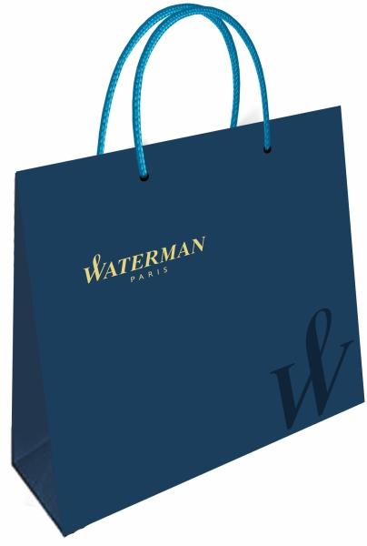 Set Stilou + Pix Waterman Hemisphere Essential White CT in caseta cadou