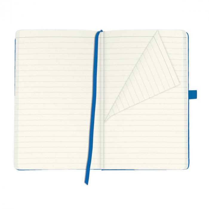 Bloc Notes My Book Classic A5 Blue Dictando Herlitz 3