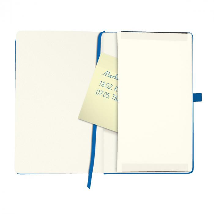 Bloc Notes My Book Classic A5 Blue Dictando Herlitz 1