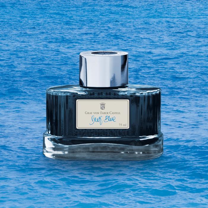 Calimara Cerneala Gulf Blue 75 ml Graf von Faber-Castell