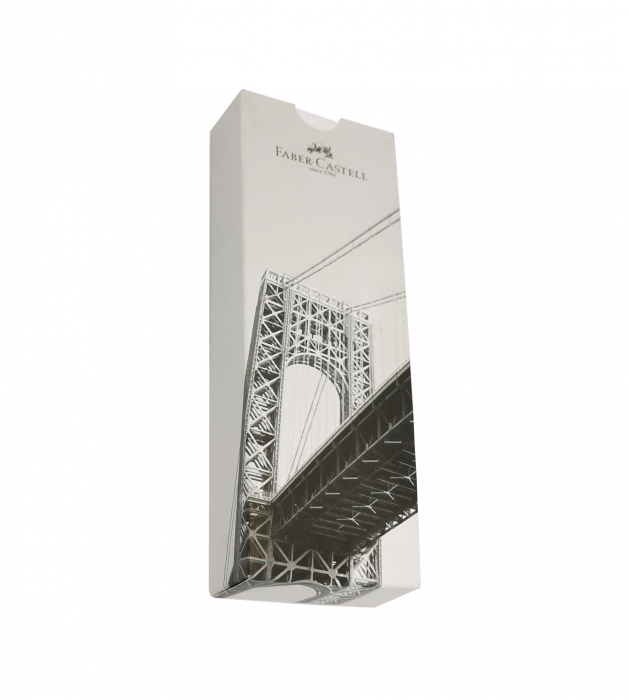 Creion Mecanic E-Motion Pure Silver Faber-Castell 2