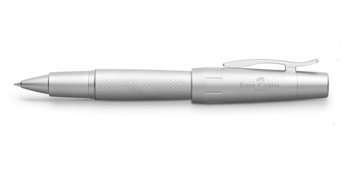 Roller E-Motion Pure Silver Faber-Castell 1
