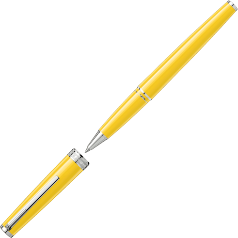 Roller Montblanc Mustard Yellow PIX Collection 0