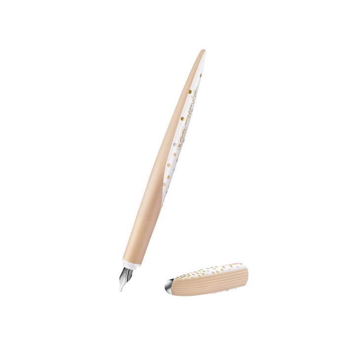 Set Stilou + 3 Penite My.Pen Style Caligrafie Pure Glam Herlitz 1