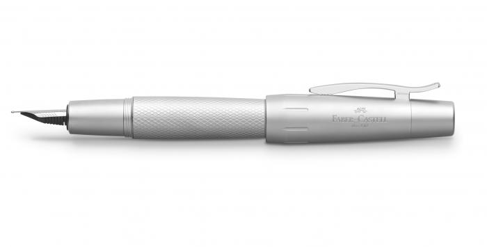 Stilou E-Motion Pure Silver Faber-Castell 3