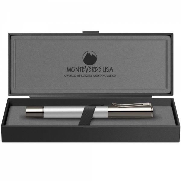 Stilou Ritma Silver GMT Monteverde USA 2