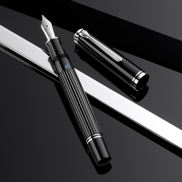 Stilou Souveran M815 Metal Striped Pelikan (Editie Speciala 180 ani) 3