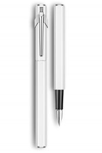 Stilou 849 Metal White Caran d'Ache