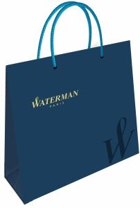 Set Stilou + Pix Waterman Hemisphere Essential Blue CT in caseta cadou
