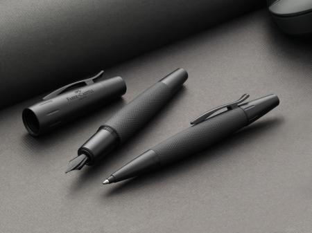 Set Stilou + Pix E-motion Pure Black in Cutie Design Faber-Castell