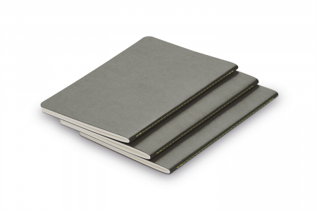 Set 3 buc Booklet Softcover A6 Grey Lamy