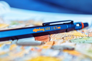 Creion Mecanic 0.7 Seria 600 Iron Blue Rotring4