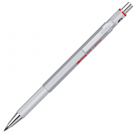 Creion Mecanic 2.0 Seria 600 Silver Rotring1