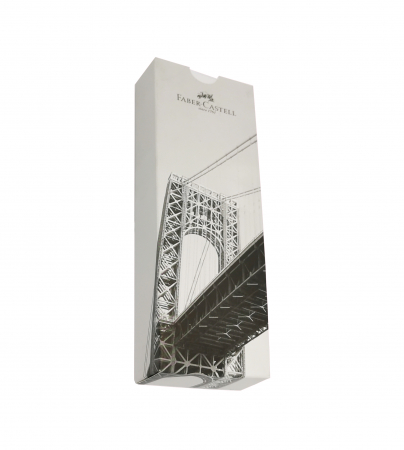 Creion Mecanic E-Motion Pure Silver Faber-Castell2