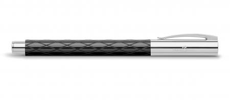 Roller Ambition Rhombus Negru Faber-Castell1