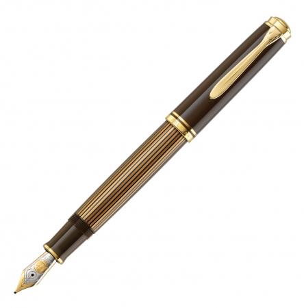 Stilou Souveran M800 Black-Brown Pelikan0