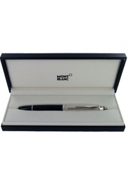 Stilou Montblanc Meisterstuck Solitaire Doue Silver Barley LeGrand