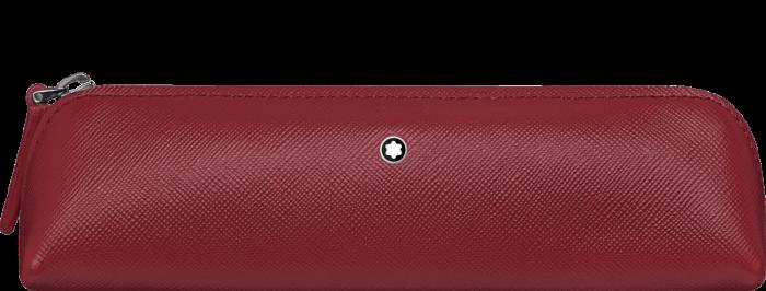 Etui Montblanc Sartorial 2 Pen Pouch Zip Top Red